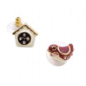 Kate Spade Ooh La La Cuckoo Clock Bird Earrings